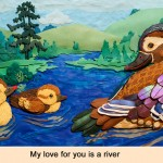 My Love for you is a RIver